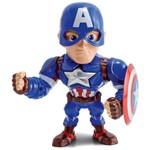 Boneco Metal DTC 15 Cm - Capitão América - Avengers
