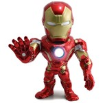 Boneco Metal DTC 15 Cm - Homem de Ferro - Avengers