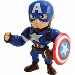 "Boneco Metals Figure 4"" Marvel Civil War Movie - Captain America- Dtc"
