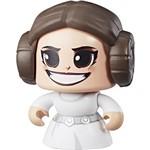Boneco Mighty Muggs Star Wars E4 Leia - E2109/ E2176 - Hasbro