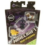 Boneco Minecraft Sortimento 3 Figuras CGX24/DKD57 - Mattel