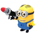Boneco Minions - Dave Rocket Launcher - Toyng Boneco Minion Dave Rocket Launcher - Toyng