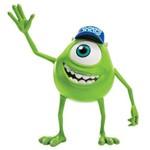 Boneco Monstros Sa Alunos Assustadores 5 - Mike Sunny Brinquedos