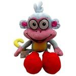 Boneco Pelúcia Macaco Botas Dora Aventureira - Multibrink