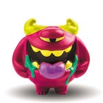 Boneco Shake Headz Monstros Loucos Guto Gasoso Rosa 4995 - Dtc