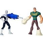Boneco Spider Man Vs Sandman com 2 Figuras de 15 Cm