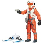 Boneco Star Wars 3.75 Snow EPVII X-Wing Pilot Asty - Hasbro