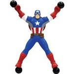 Boneco Stick Hero Avengers Capitão América 1461 Candide