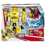 Boneco Transformers Bumblebee Cavaleiro Vigilante Playskool - Hasbro C1122