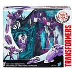 Boneco Transformers - Robots In Disguise - Mini-con - Fracture e Airazor - Hasbro