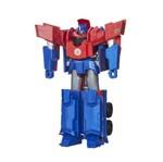 Boneco Transformers - Robots In Disguiste 3 Passos - Optimus Prime - Hasbro