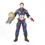 Boneco Vingadores: Capitão America com Joia do Infinito - Hasbro