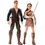 Bonecos Dc Comics Wonder Woman And Steve Trevor Giftset - Mattel