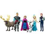 Bonecos Disney Frozen 6 Bonecos Mini Mattel
