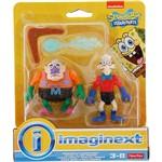 Bonecos Homem Sereia e Mexilhãozinho - Mattel