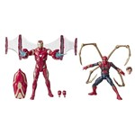 Bonecos Legends Series 80 Anos - Iron Man Mark 50 / Iron Spider