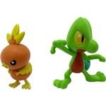 Bonecos Pokémon Treecko Vs Torchic - Tomy