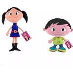Bonecos Show da Luna Pelucia Dtc - Kit C/ 2 Personagens