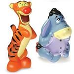 Bonecos Vinil Pooh Disney Ió e Tigrão - Lider