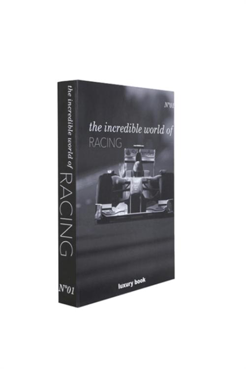 Book Box Incredible World Of Racing