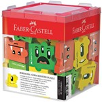Borracha Escolar Monster Puzzle 3 Modelos Sortidos Faber-castell com 40 Unidades