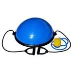 Bosu Meia Bola Suíça Balance com Bomba e Alças Pilates 60cm