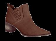 Bota Feminina Curta Bico Fino Tanara T2302 | Dtalhe Calçados