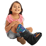 Bota Imobilizadora Infantil Robocop Chantal Bota Ortopédica Infantil Imobilizadora Chantal Tam 2 (29-32)