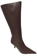 Bota Longa Cristófoli 146012 Social Bico Fino   Dtalhe Calçados