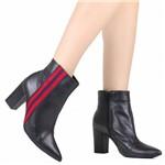 Bota Zariff Ankle Boot Salto Grosso | Betisa