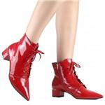 Bota Zariff Shoes Ankle Boot Verniz | Betisa