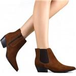 Bota Zariff Shoes Chelsea em Nobuck 1641714 | Betisa