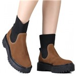 Bota Zariff Shoes Coturno Chelsea Flatform | Betisa