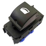 Botão Acionador Vidro Elétrico Simples8 13 - Un90961