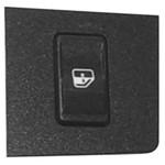 Botão do Vidro com Moldura Simples Lado Esquerdo D Verde G1 - Un90128 Fiorino /uno /elba
