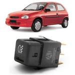 Botão Interruptor Farol de Milha Corsa Pick Up Corsa 2000 à 2002 Classic 2003 à 2010