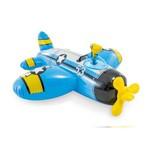 Bote Inflável, Avião com Pistola de Água, Azul-INTEX
