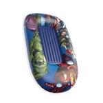 Bote Inflável com Fundo 120x80cm Avengers Etitoys Dyin-086