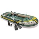 Bote Seahawk 400 Set, Remo de Alumínio de 122 Cm- Intex