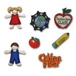 Botões P/Apliques Escola 5425Diu - Toke e Crie