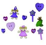 Botões P/Apliques Pequenas Princesas 5812Diu