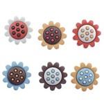 Botões para Apliques Girassóis Diu8375 - Toke e Crie