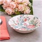 Bowl Cerâmica Hitit Havan Rosa Floral Rosa Floral