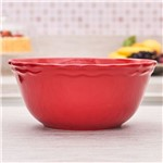 Bowl de Ceramica Juliet 2550ml Havan Vermelho