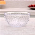 Bowl Transparente Hibisco 580ml Havan Vidro