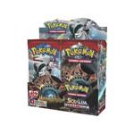 Box 36 Booster Cards Pokémon Sol e Lua Invasão Carmim
