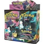 Box 36 Boosters Cards Pokémon Sol e Lua 9 União de Aliados Cartas Copag - Suika