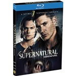 Box Blu-ray Supernatural - 7ª Temporada (4 Discos)