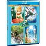 Box Blu-ray Tinker Bell: Quadrilogia (4 Discos)