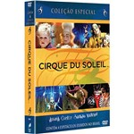 Box Cirque Du Soleil: Alegria, Corteo, Saltimbanco e Varekai (4 DVDs)